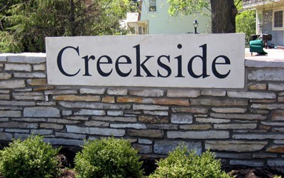 Creekside Basic Sign